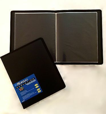 Itoya Evolution Portfolio, book bound album, photos up to 5x7, black