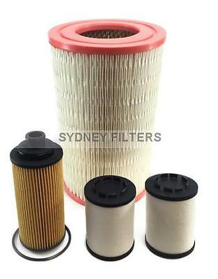 HOLDEN COLORADO 7 AIR OIL FUEL FILTER KIT - 2.5L, 2.8L TURBO DIESEL 2012- on