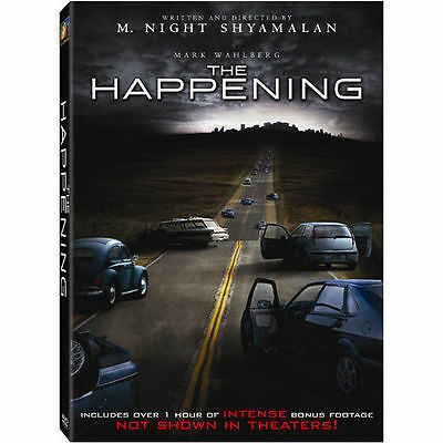 The Happening DVD *Disc Only* Mark Wahlberg