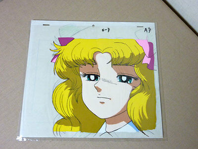 Lot of 2 Anime Cel Candy Candy with sketch A7 1992 Movie ver