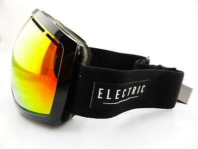 Electric EG2 Snow Goggles Gloss Black - Bronze/Red Chrome + Bonus Lens