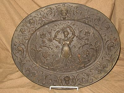 Antique Cast Iron American Radiator Advertising Plaque w/ Cherubs