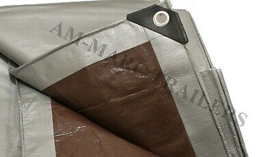 Extra Heavy Duty Tarpaulin 210gsm, Ground Waterproof Cover, Camping, Roofing..
