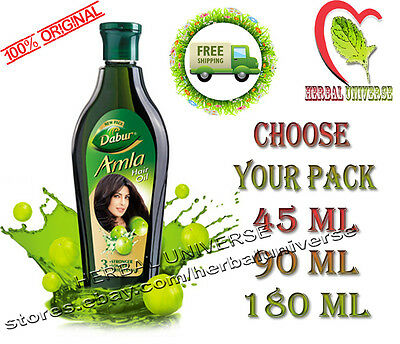 Dabur Amla Hair Oil -Natural Gooseberry Oil for Beautiful and Strong Hair HK