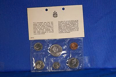 1968 Canadian Mint 6 Coin Set