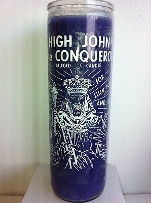 High John The Conqueror 7 Day Unscented Candle In Glass