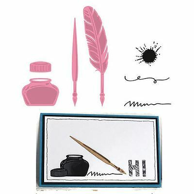 Marianne Design - Collectables Dies & Stamps - Quill pen and ink COL1375