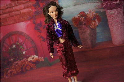 Cute GORGEOUS Handmade The original clothes dress for barbies doll C317