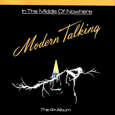 LP - Modern Talking - In The Middle Of Nowhere (The 4th Album) NEW STORE STOCK