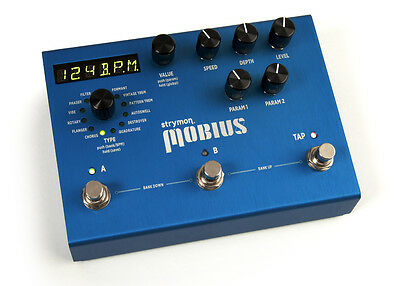 Strymon Mobius Chours/Flanger/Phaser/Vibe/Rotary/Univibe NEW Guitar Pedal
