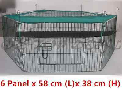 Mini Pet Playpen Guinea Pig Hamster Bunny Play Pen Cage Small Run Enclosure