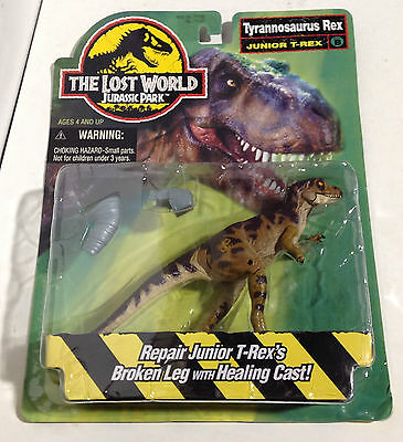 Jurassic Park the Lost World Tyrannosaurus Rex Junior T Rex  New in Packaging