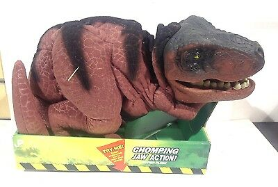 "Jurassic Park the Lost World Tyrannosaurus Rex ""T-Rex"" Action Plush New in Box"