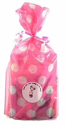 Disney Minnie Mouse Pre Filled Party Bag Kids Birthday Wedding Favors Rewards