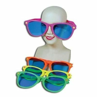 Giant Oversized Jumbo Novelty Sunglasses Fun Joke Fancy Dress Stag Hen Clown