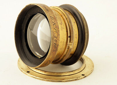 Very Rare! Early Carl Zeiss Protar 1:9 F9 F=317mm Series IIIa Vitnage Brass Lens