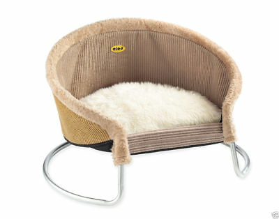 Cleo Pet Lounger Fawn/Sand (09-407)