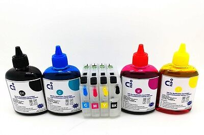 Refillable Ink Cartridge Kits for Brother MFC J6920DW J870DW LC123 Printer