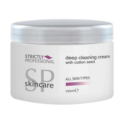 Strictly Professional Deep Facial Face Cleansing Cream 450ml