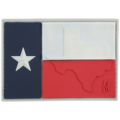 PVC Morale Patch - MAXPEDITION - TEXAS FLAG - FULL Color - Hook & Loop