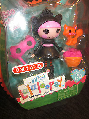 *WOW* 2014 Mini Lalaloopsy BOO SCAREDY CAT Halloween TARGET #418160 Easter