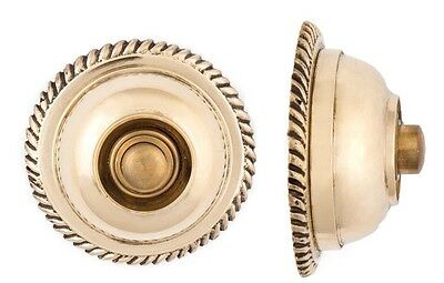 Rope cast brass Doorbell