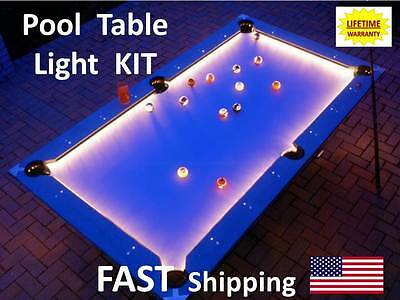 LED Pool & Billiard Table Lighting KIT - light your JPechauer pool cue stick NEW