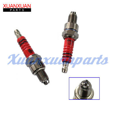 Motorcycle Spark Plug A7TC High Performance Triple Electrode  Replace C7HA C7HSA