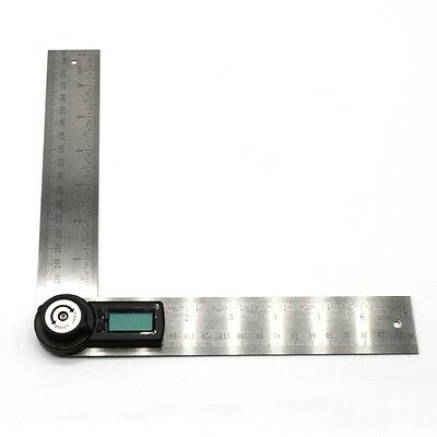 2 in 1 360 Degree Digital Angle Finder Ruler Protractor
