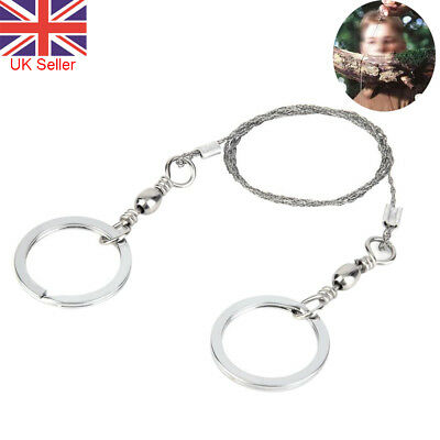 Gear Steel Wire Saw Bushcraft Commando Emergency Camping Hunting Survival Tools