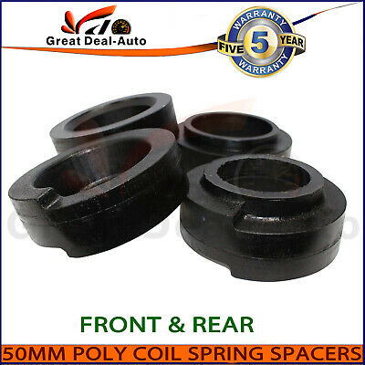 Fit Nissan Patrol GQ GU 30mm Coil Spring Polyurethane Spacers Kit Front Rear 4wd