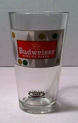 Budweiser Retro 1955 Pint Collectors Series Glass