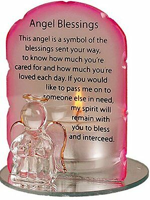 Angel Blessings Angel Candle Holder with Angel Blessings Prayer -  Catholic Shop