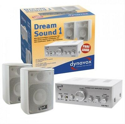 HiFi Stereo Set Dynavox Dream Sound 1 Silber