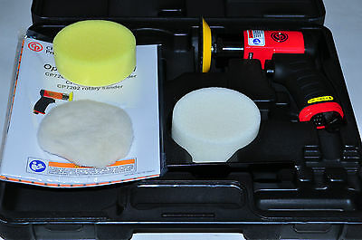 """CHICAGO PNEUMATIC CP CPT 7201P Palm 3"""" Polisher Kit with Foam Pads"""