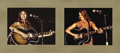"Country Music Legend ""EMMYLOU HARRIS"" 2  11x14 Duotone CLUB  PHOTOS  1976"