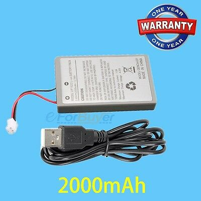 2pcs 3.7V Rechargeable Battery Pack For Sony Playstation 4 PS4 Game Controller