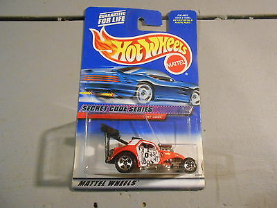 Hot Wheels Secret Code Series Fiat 500C