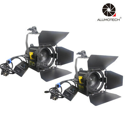 2*20W LED Fresnel Spot Continuous Dimming Lighting For Video Studio Photography