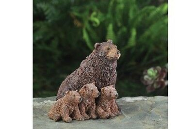My Fairy Gardens Mini - Bear Family - Supplies Accessories