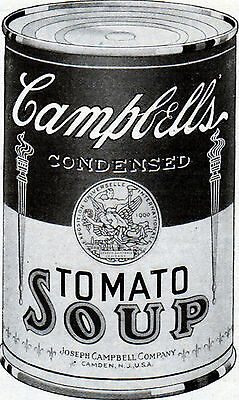 1922 Campbell's Tomato Soup ad -l-477