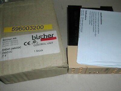 Bircher Reglomat Safety Relay Esd41-24Acdc New In Box  A13