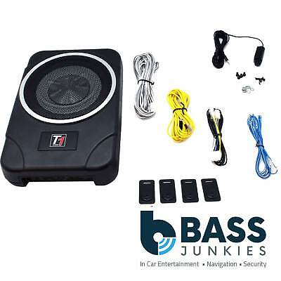 EHSW8ACT - 180 Watts Active Amplified Amp UnderSeat Under Seat Car Sub Subwoofer