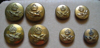 RAF Buttons WWII