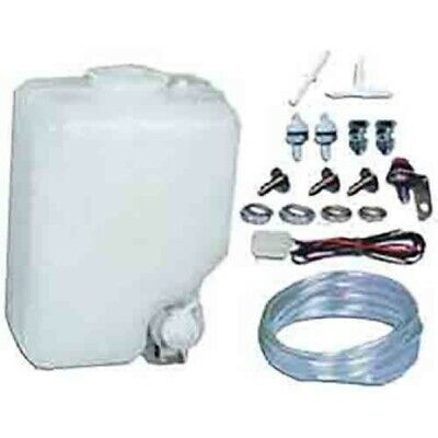 Windscreen Washer Bottle & Pump Motor & Switch Kit 12Volt Universal Fit EW3T3