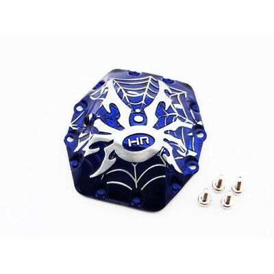 Hot Racing WRA12CW16 Axial Yeti Wraith AX10 Spider Diff Cover (Blue)