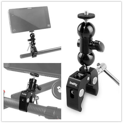 Smallrig Double BallHead For DSLR Camera Video Monitor with 15mm Rod clamp