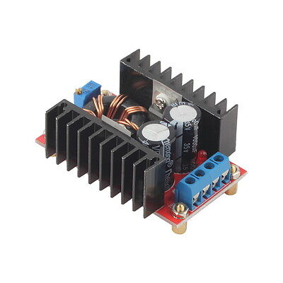 150W DC-DC Boost Converter 10-32V to 12-35V Step Up Charger Power Module OK