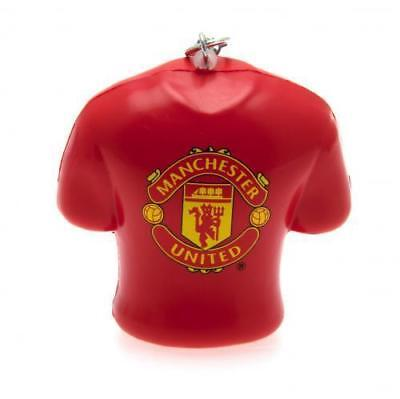 Manchester United Stress Relief Football Souvenir Key Ring Official - Free P&P