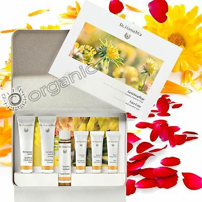 Dr Hauschka Genuine Organic Face Care Kit 45ml Perfect for Travelling Brand NEW